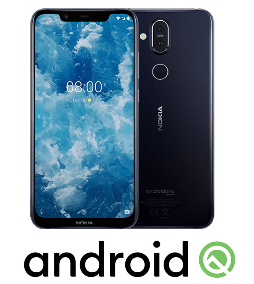 Nokia 8.1 Android Q update