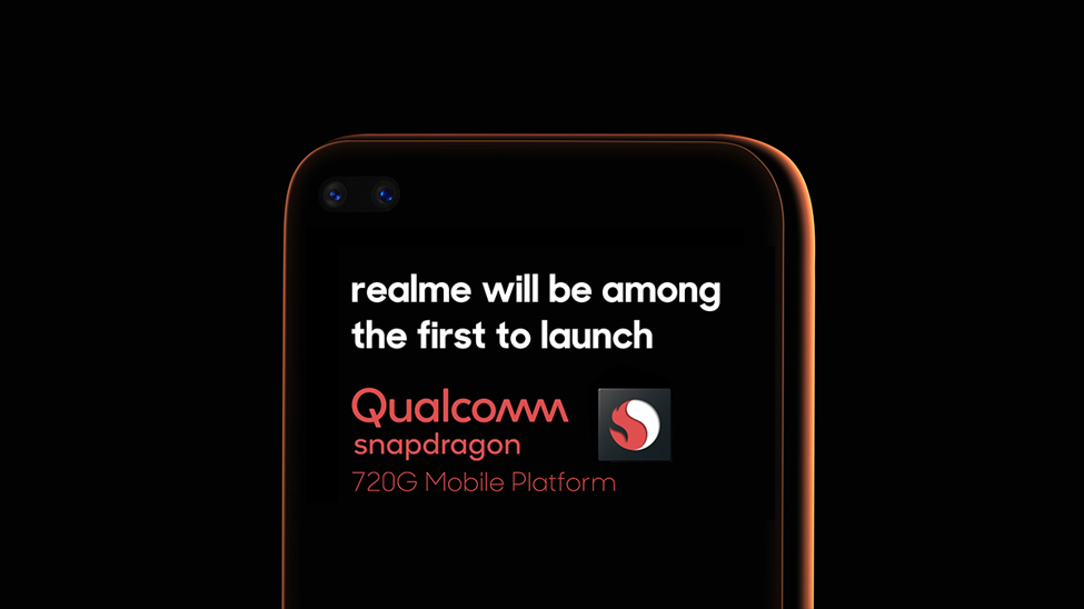 Realme Phone with Snapdragon 720G SoC