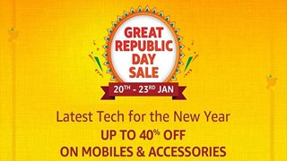 Amazon Great Republic Day Sale: Know the offers